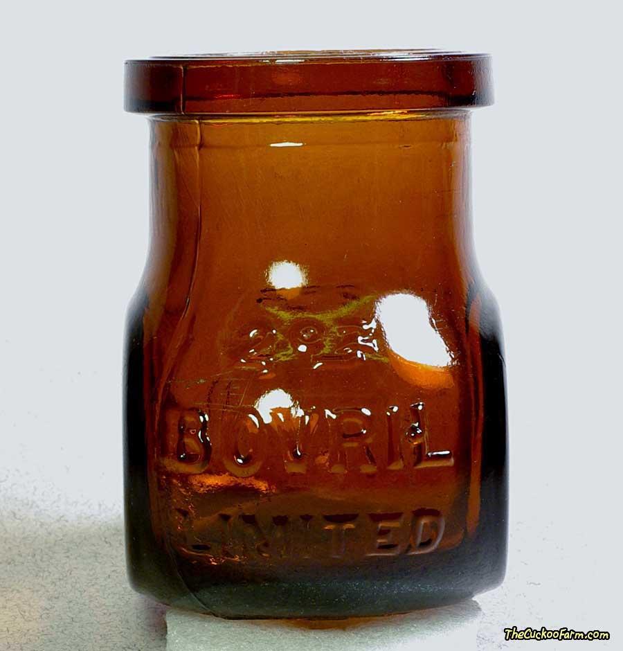 Old Bovril Bottle