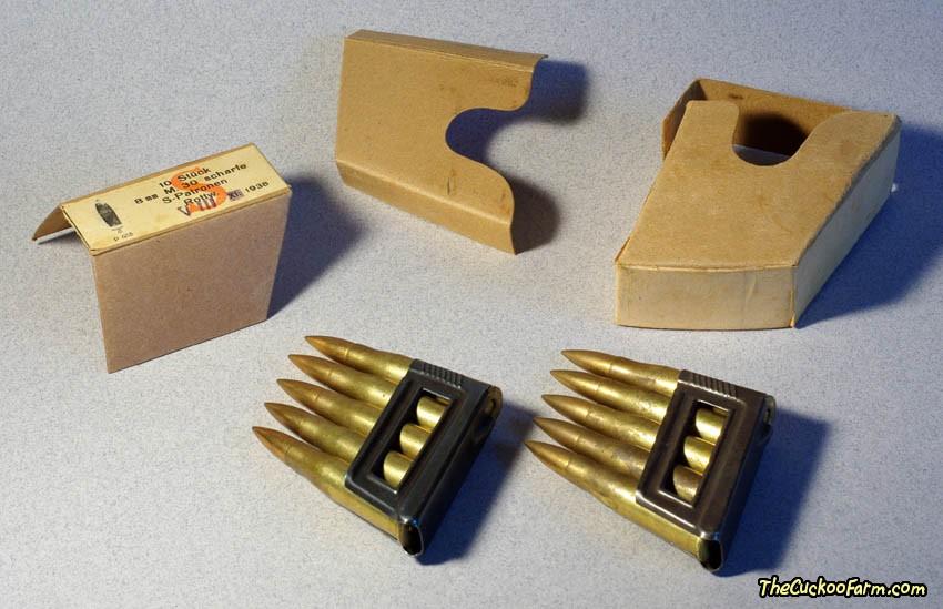 WWII 8mm M30 Ammunition