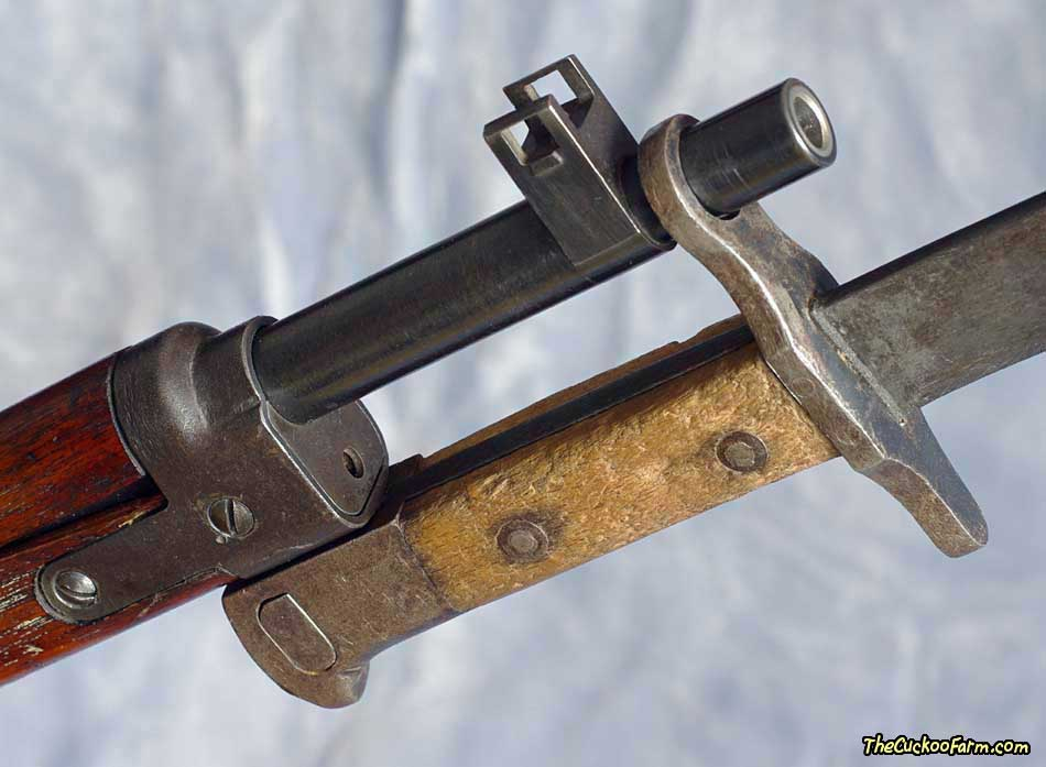 WWII Japanese Type 30 Arisaka bayonet