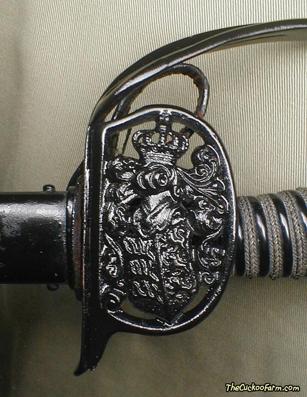 Wurttemberg Prussian Model 1889 Officer's Sword