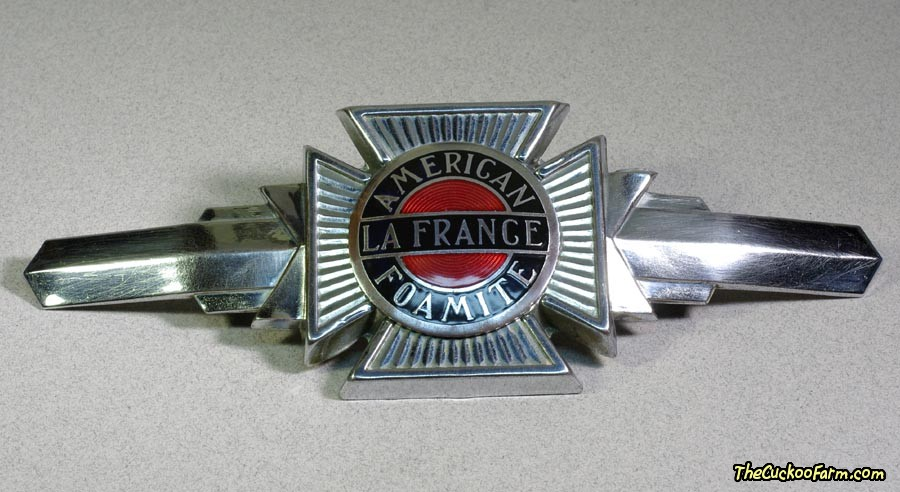 American LaFrance Foamite 700 Series Emblem