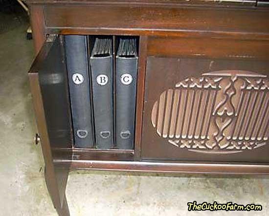 Brunswick York Model Phonograph Front