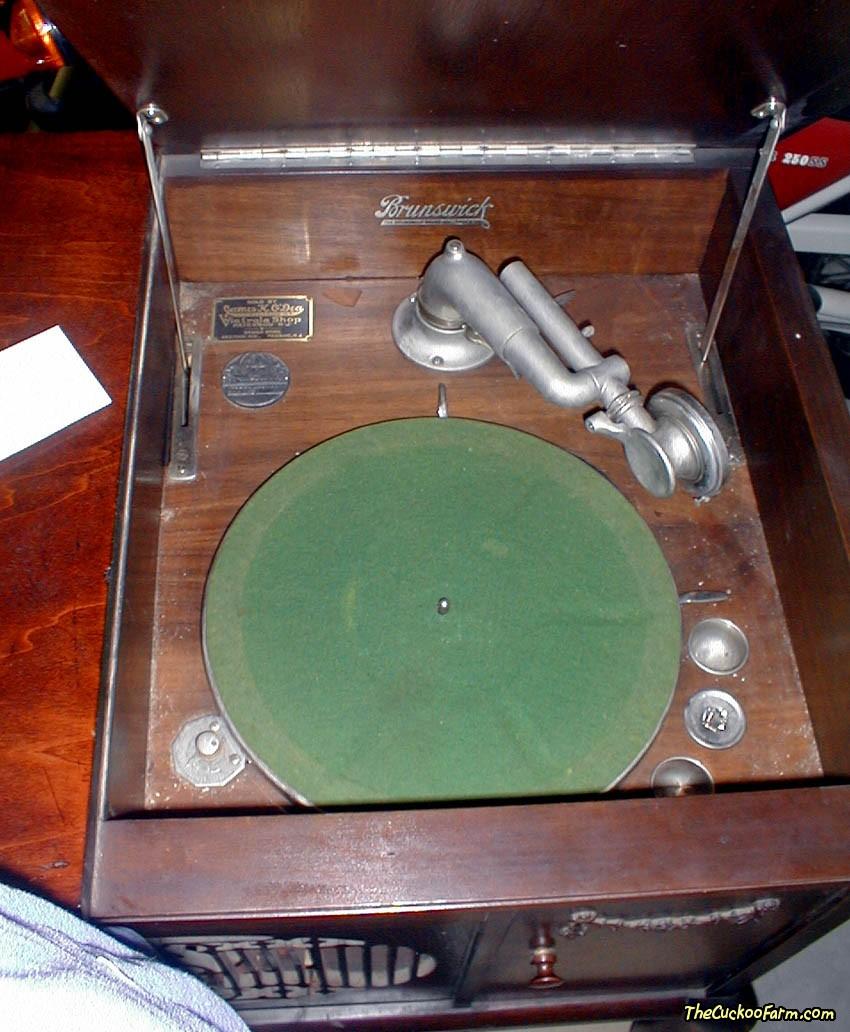 Brunswick York Model Phonograph