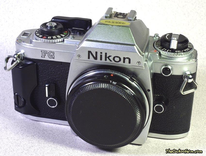 Nikon FG 35mm SLR