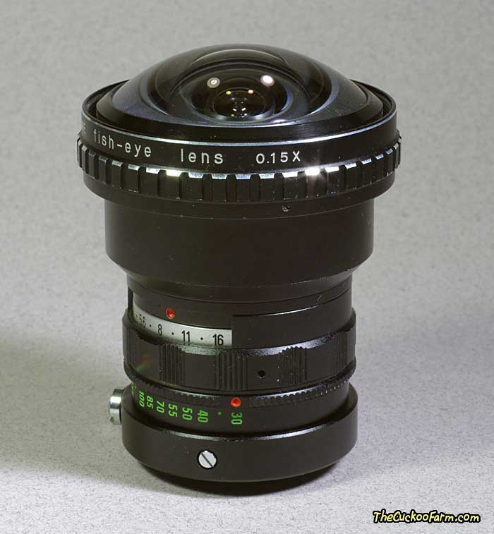 Spiratone Auxiliary Fish-Eye Lens