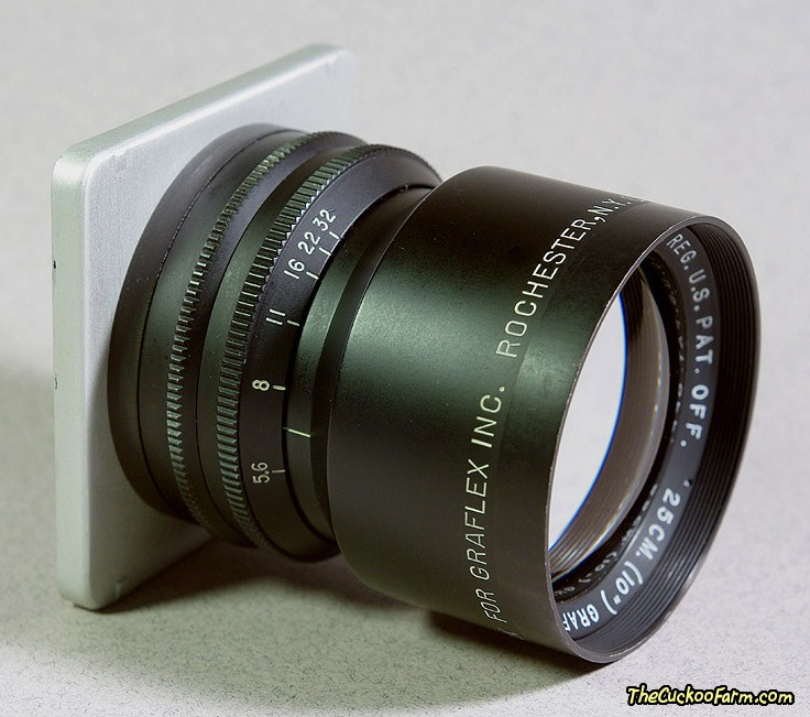 Large and Medium Format Lenses & Shutters