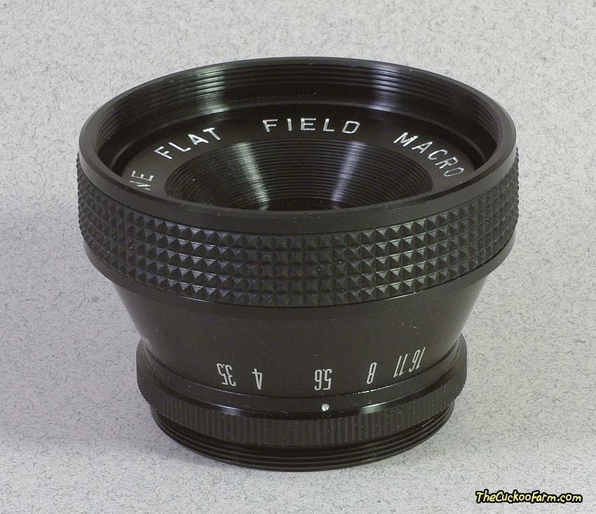 Spiratone 75mm Flat Field Macro Lens