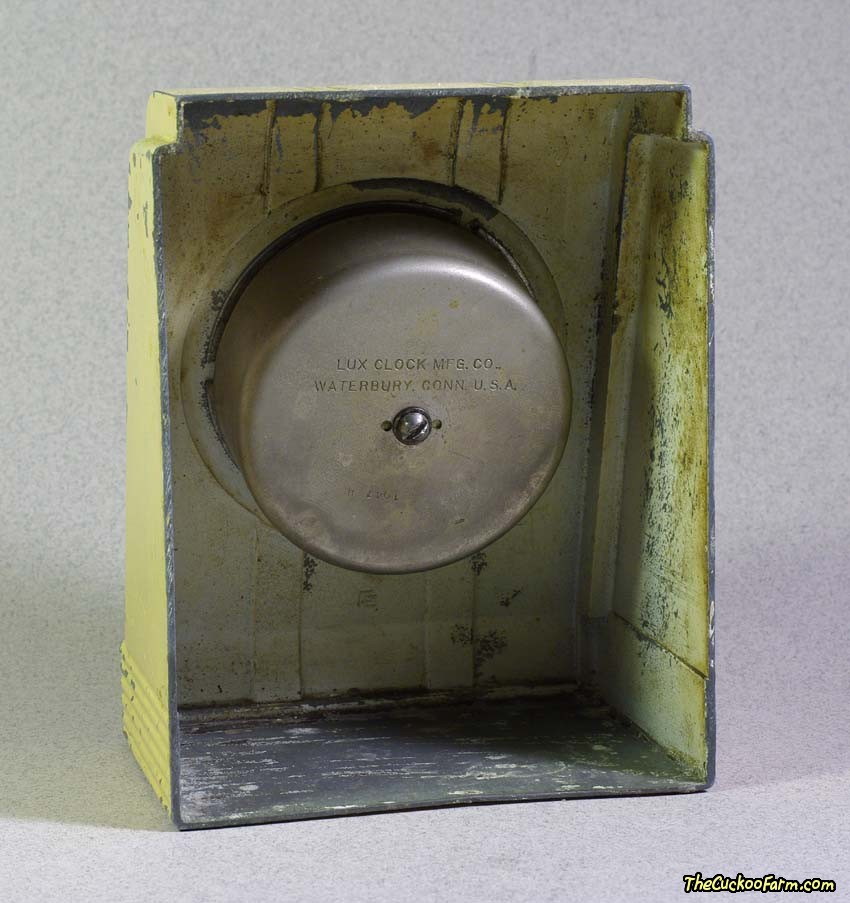 Old Counter Top Lux Timer Back