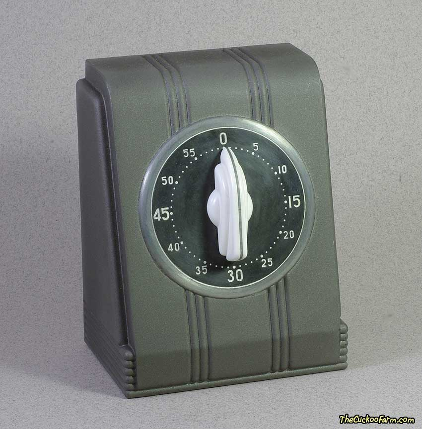 Counter Top  Kitchen Timer Front