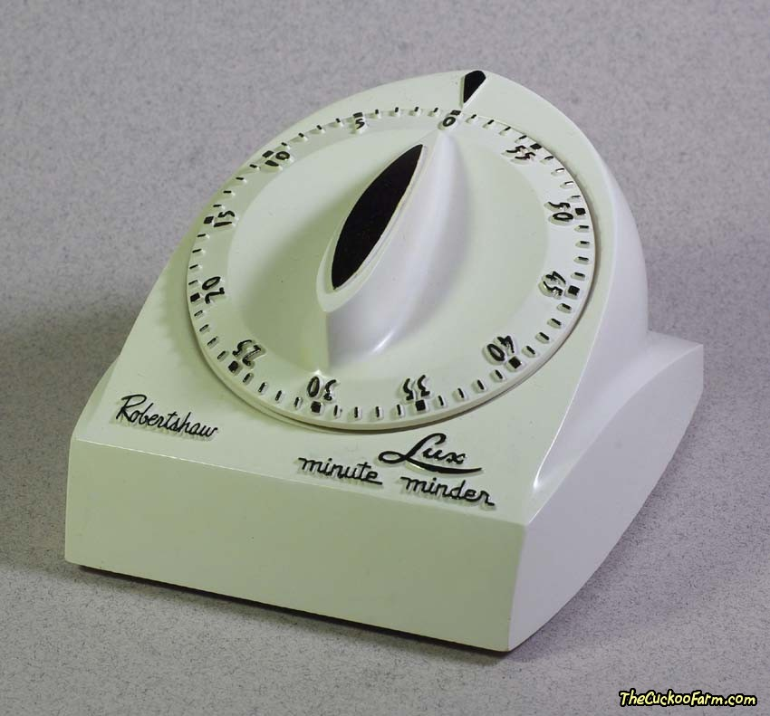 Counter Top Long Ring Kitchen Timer Front
