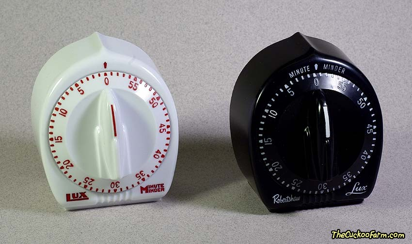 Small Lux Minute Minder Timer Front