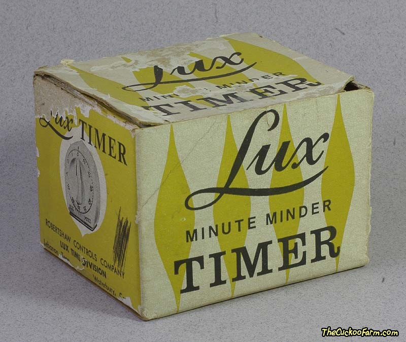 Small Lux Minute Minder Timer Back