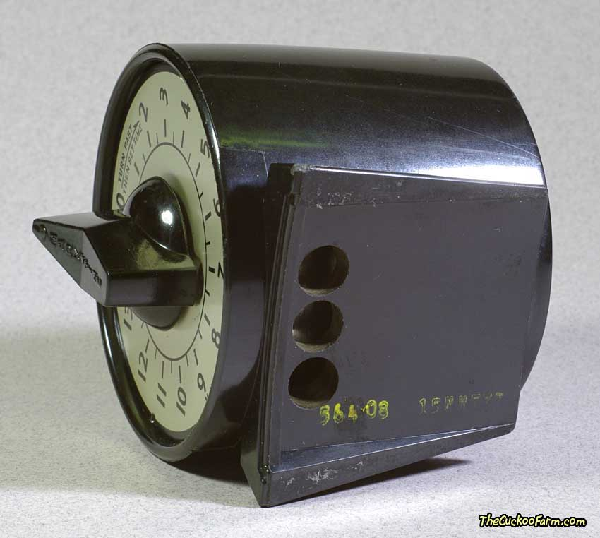 M.H. Rhodes, Inc. 15 Minute Timer bottom