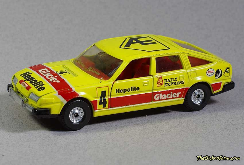 Corgi - Rover 3500 1983 BSCC Winner