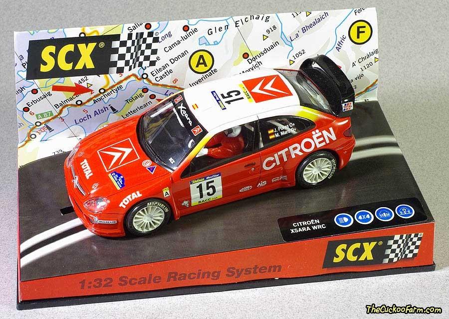 2001 Citroen Xsara WRC Rally car - slot car.
