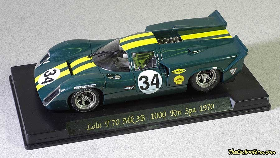 Lola T70 that won Spa in 1970 slot car.
