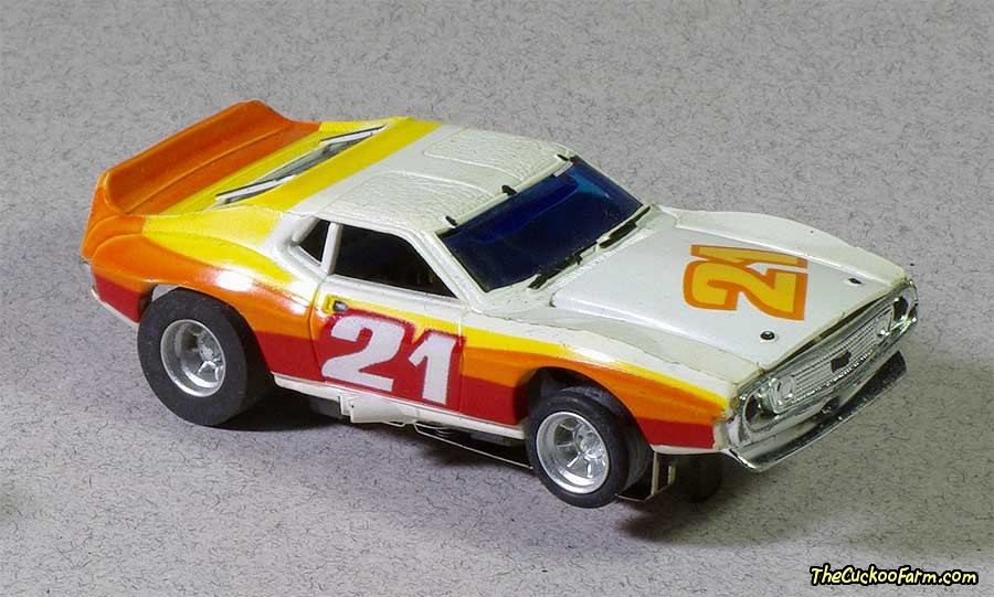 AMC AMX slot car.