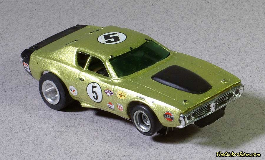 Dodge Charger slot car.