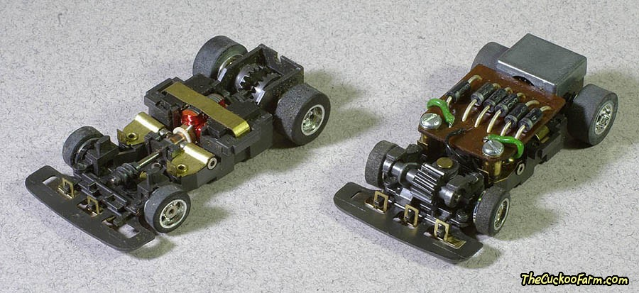 Steet chassis slot car.